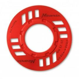 Kryt řetězu pro kliky Bosch červená