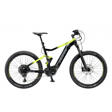 KTM Macina Lycan 274 Black matt (yelow+grey) 2019