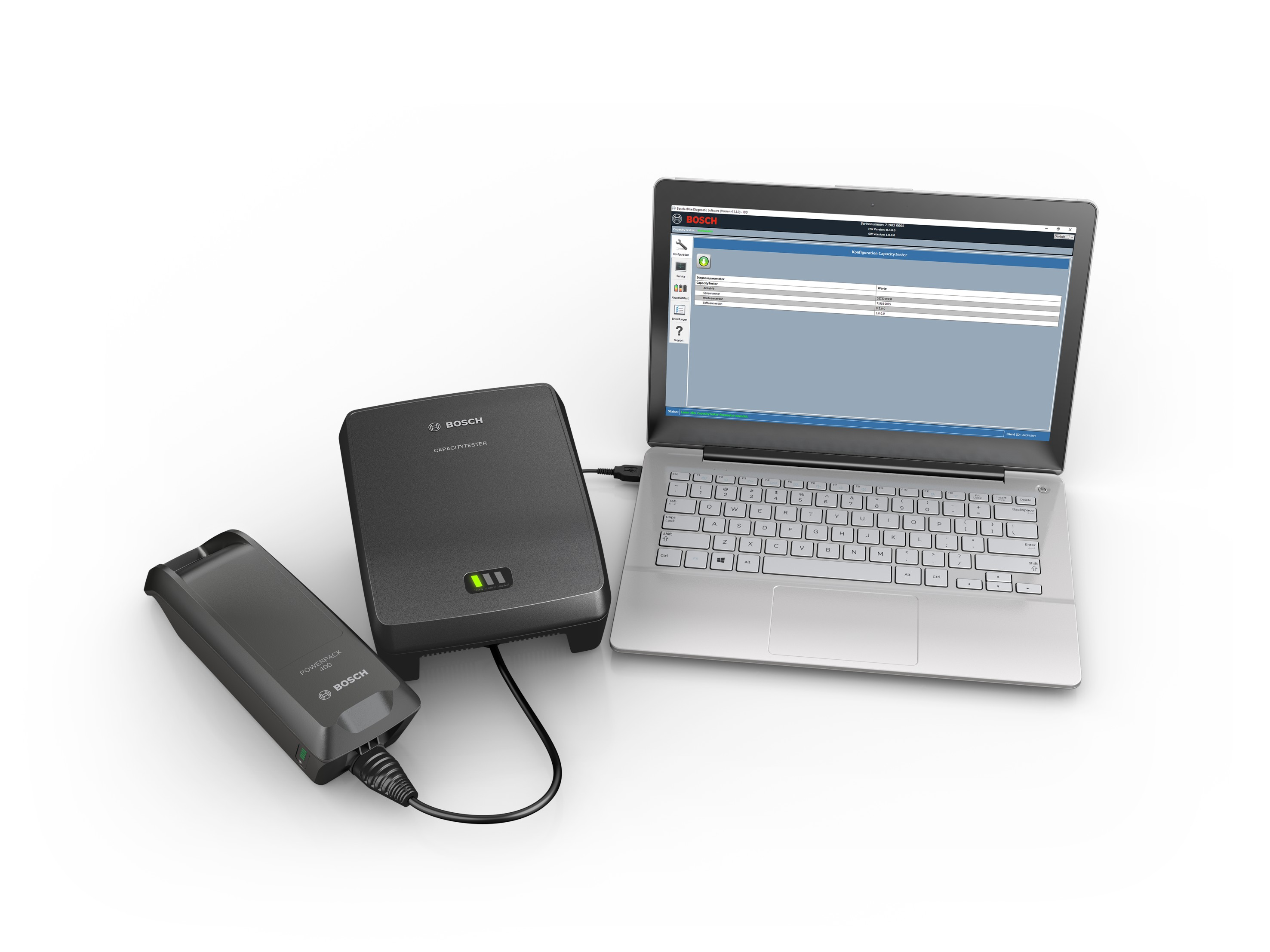 Tester capacity battery Bosch