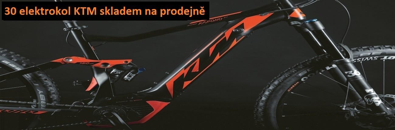 Skladem nové modely elektrokol KTM 2018